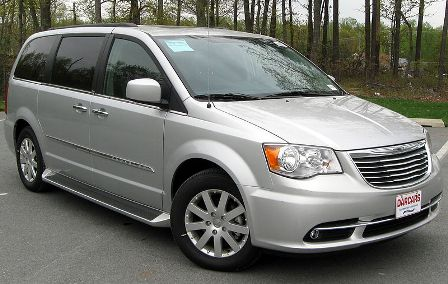 Авто Новый Chrysler Town & Country