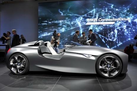 Авто Концепт родстер BMW Connected Drive