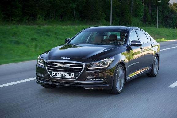 Авто Тест-драйв Hyundai Genesis