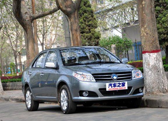 Авто Китайский седан Geely MK 08