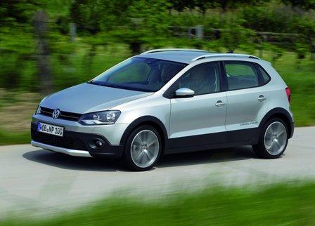 Авто Внедорожник Volkswagen Cross Coupe 2012